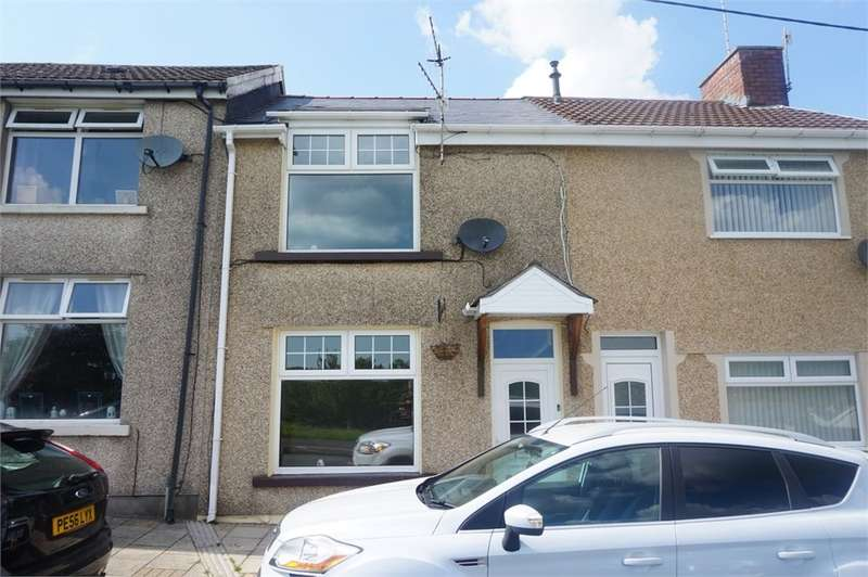 2 Bedrooms Terraced House for sale in St Annes Crescent, Bargoed, CF81