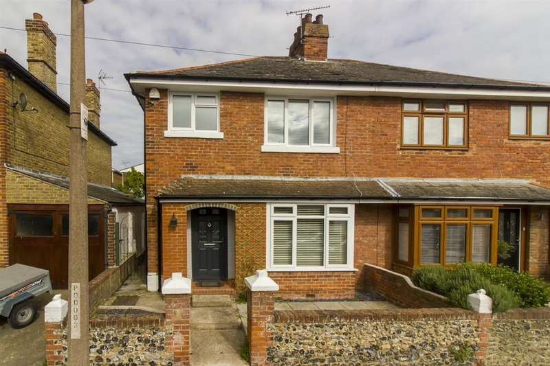 4 Bedrooms Semi Detached House for sale in Pegwell Avenue, Ramsgate