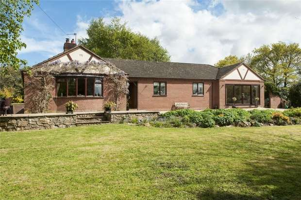 3 Bedrooms Detached Bungalow for sale in Lyndale, Bushmoor, Shropshire