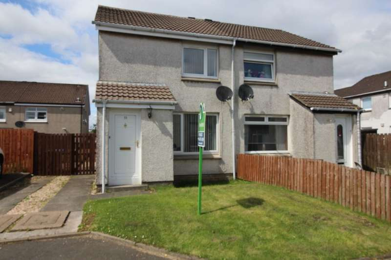 2 Bedrooms Semi Detached House for sale in Glenmore, Whitburn, Bathgate, EH47