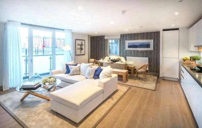 3 Bedrooms Flat for sale in Ivory & Calico Riverside, Battersea, London, SW11