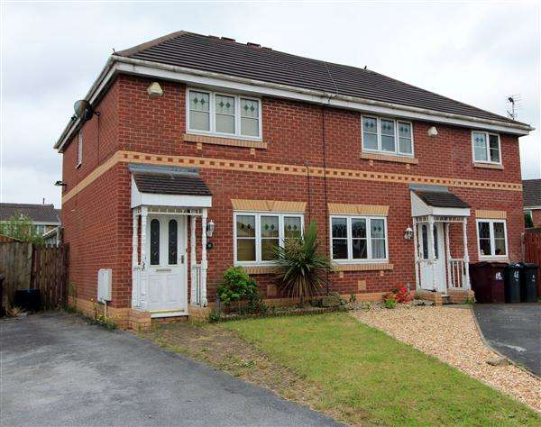 3 Bedrooms Semi Detached House for sale in Hobart Drive, Kirkby