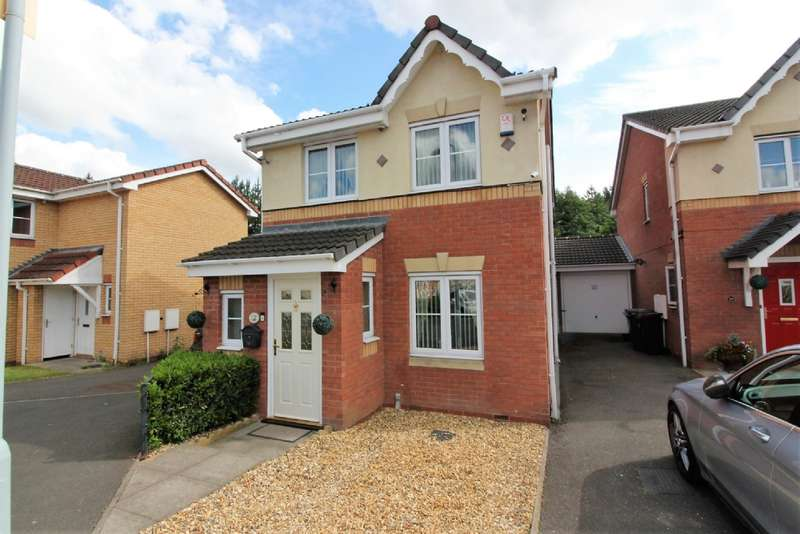 3 Bedrooms Detached House for sale in Marbury Drive, Bilston
