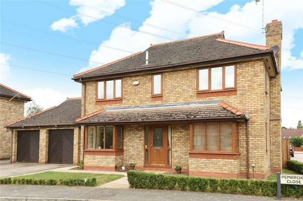 4 Bedrooms Detached House for sale in Pembroke Close, Marston Moretaine, Bedford