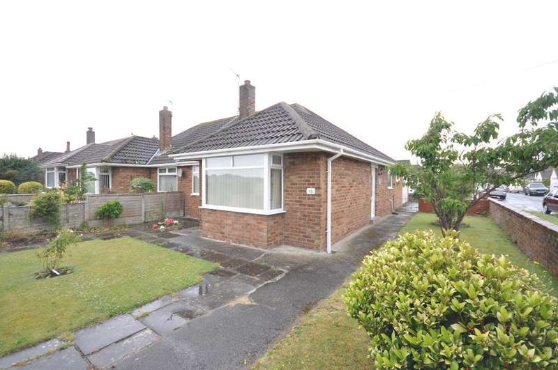 2 Bedrooms Semi Detached Bungalow for sale in Ledbury Avenue, St Annes, Lytham St Annes, Lancashire, FY8 3LS