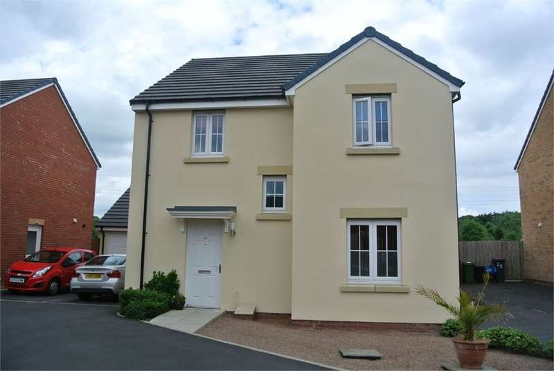 4 Bedrooms Detached House for sale in Parc Panteg, Griffithstown, Pontypool, NP4