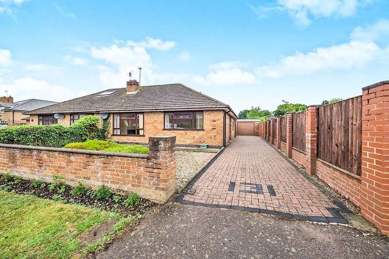 2 Bedrooms Semi Detached Bungalow for sale in Heather Road, Binley Woods, Coventry, CV3