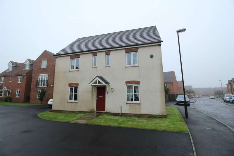 4 Bedrooms Detached House for sale in Edgefield, West Allotment, Newcastle Upon Tyne, NE27