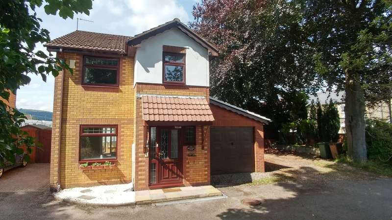 3 Bedrooms Detached House for sale in Beech Tree Mews, Pontygwindy Road, Caerphilly