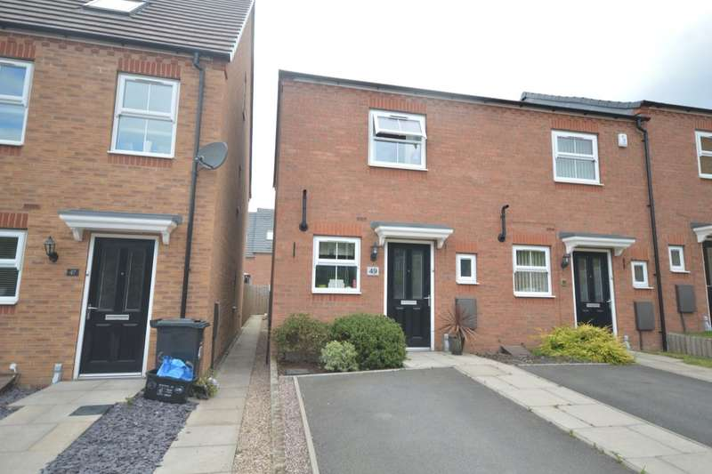 2 Bedrooms Semi Detached House for sale in Wellspring Gardens, Dudley, DY2