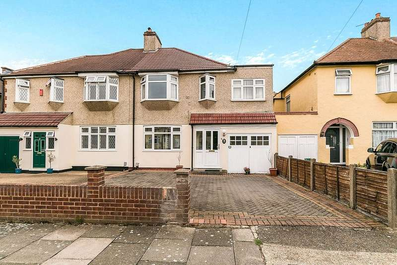 4 Bedrooms Semi Detached House for sale in Stapleton Road, Bexleyheath, DA7