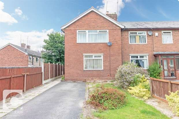 3 Bedrooms End Of Terrace House for sale in Raeburn Avenue, Little Neston, Neston