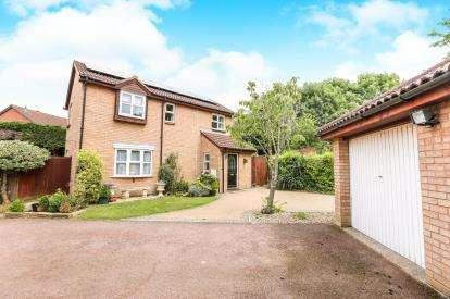 4 Bedrooms Detached House for sale in Sanderling Close, Letchworth Garden City, Hertfordshire, England