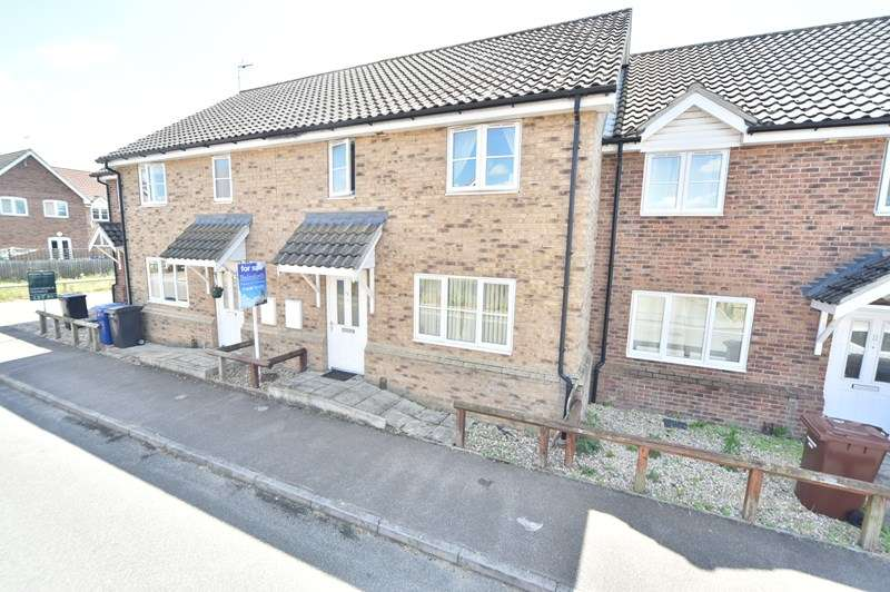 3 Bedrooms Terraced House for sale in Aspal Way, Beck Row, Bury St. Edmunds