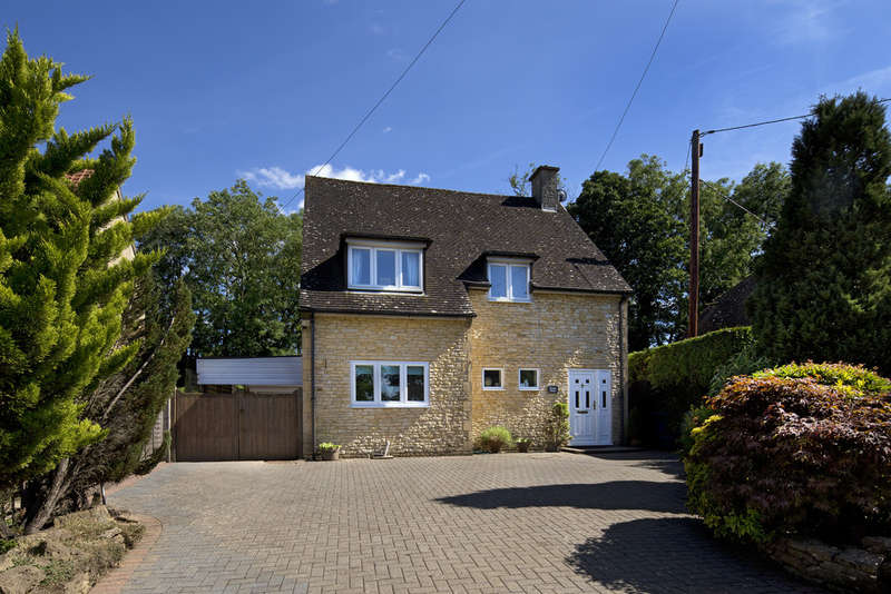 3 Bedrooms Detached House for sale in North Aston, Oxfordshire