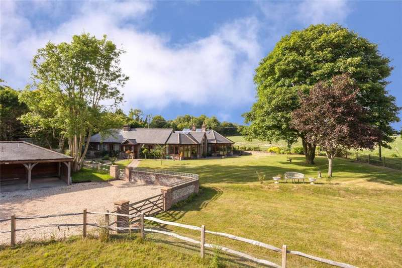 5 Bedrooms Equestrian Facility Character Property for sale in Madehurst Road, Madehurst, Arundel, West Sussex, BN18