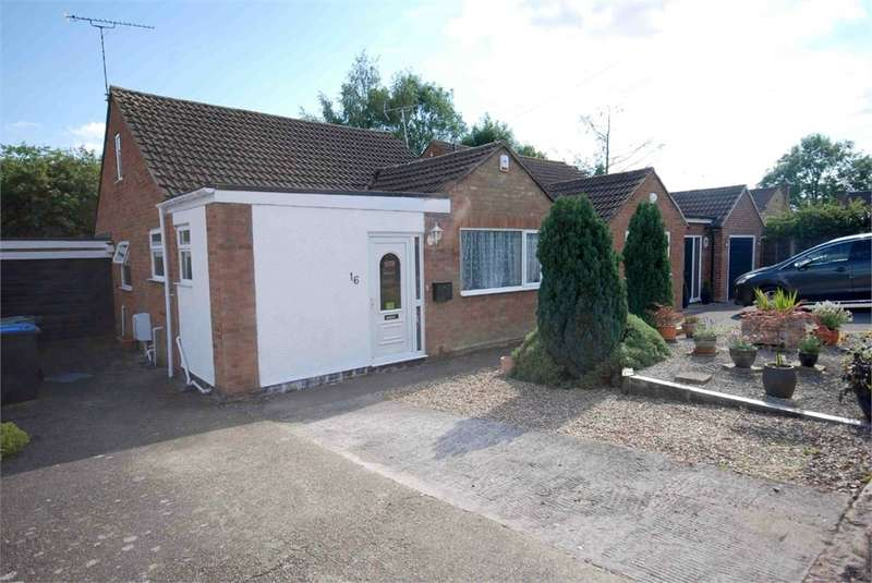 2 Bedrooms Detached Bungalow for sale in Beaconsfield Avenue, RUGBY, Warwickshire