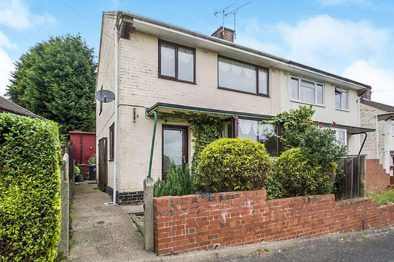 3 Bedrooms Semi Detached House for sale in Balmoral Road, Ilkeston, DE7