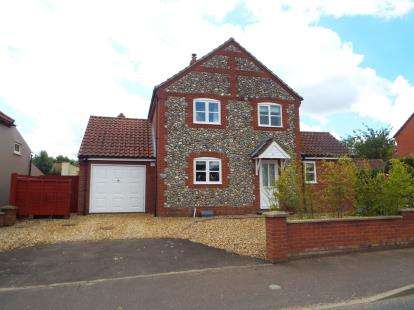3 Bedrooms Detached House for sale in Great Ryburgh, Fakenham, Norfolk