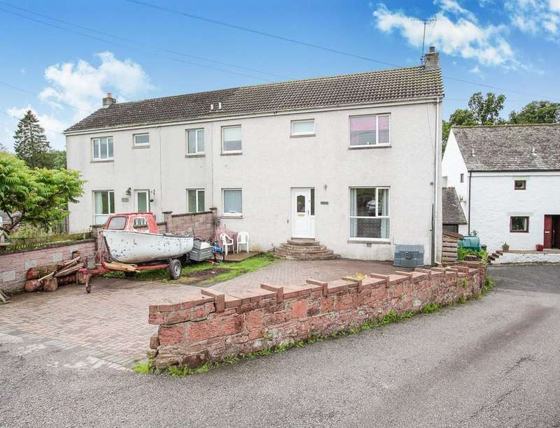 3 Bedrooms Semi Detached House for sale in Cairnspray, East Cluden Village, Dumfries, DG2