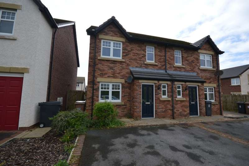 3 Bedrooms Semi Detached House for sale in Leander Close, Whitehaven, CA28