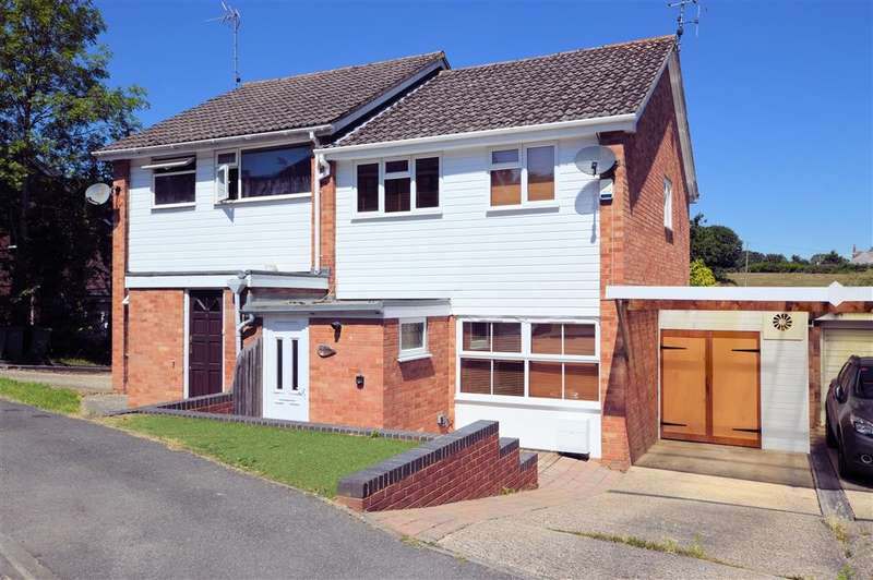 3 Bedrooms Semi Detached House for sale in Southwood Gardens, Burghfield Common, Reading, RG7