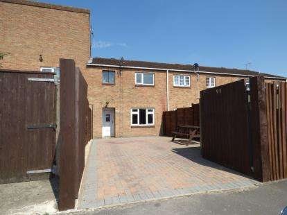 3 Bedrooms Terraced House for sale in Beaulieu Close, Toothill, Swindon, Wiltshire