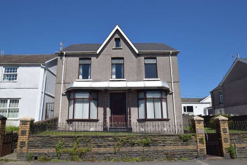 4 Bedrooms Detached House for sale in Sunny Croft, 59 Bridgend Road, Garth, Maesteg, Bridgend County Borough, CF34 0NL.
