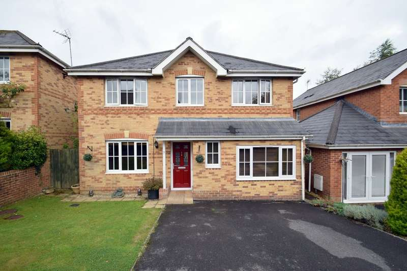 4 Bedrooms Detached House for sale in 7 Vale Park, Broadlands, Bridgend, Bridgend County Borough, CF31 5EA.