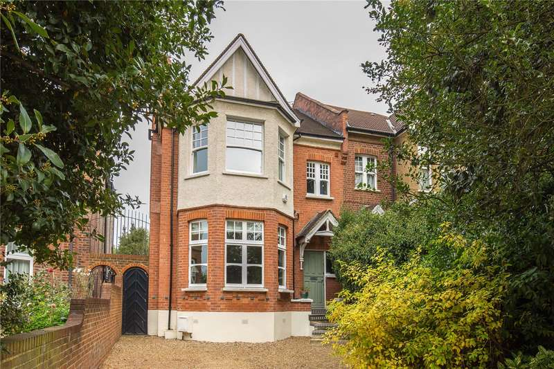 4 Bedrooms Semi Detached House for sale in Great North Road, East Finchley, London, N2