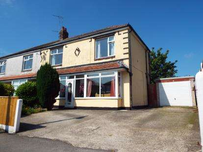 3 Bedrooms Semi Detached House for sale in Rossendale Avenue North, Thornton-Cleveleys, Lancashire, FY5