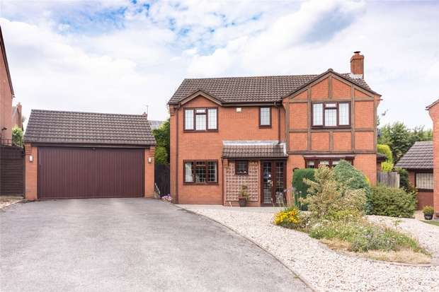 4 Bedrooms Detached House for sale in Sheriffs Close, Lichfield, Staffordshire