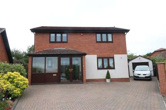 4 Bedrooms Detached House for sale in Berkeley Grange, Carlisle, Cumbria, CA2 7PN