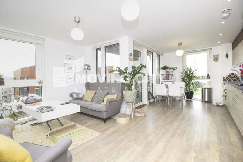2 Bedrooms Flat for sale in Oslo Tower, Greenland Place, Surrey Quays, SE8