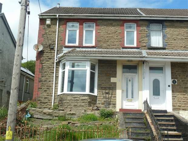 4 Bedrooms Semi Detached House for sale in Bryn Terrace, Caerau, Maesteg, Mid Glamorgan