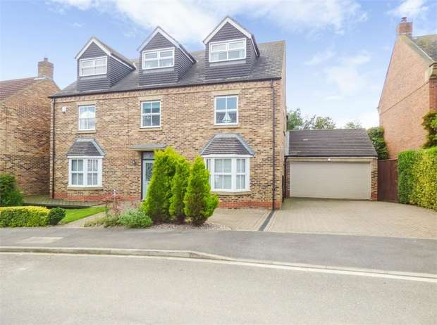 6 Bedrooms Detached House for sale in Poplars Lane, Carlton, Stockton-on-Tees, Durham