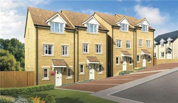 4 Bedrooms Semi Detached House for sale in The Willowdale, Blenheim Rise, Stroud.