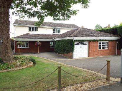 4 Bedrooms Detached House for sale in Peckleton Lane, Desford, Leicester, Leicestershire
