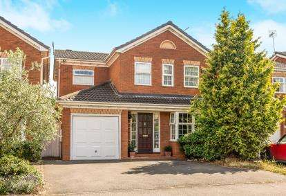 4 Bedrooms Detached House for sale in Santa Maria Way, Stourport-On-Severn, Worcestershire