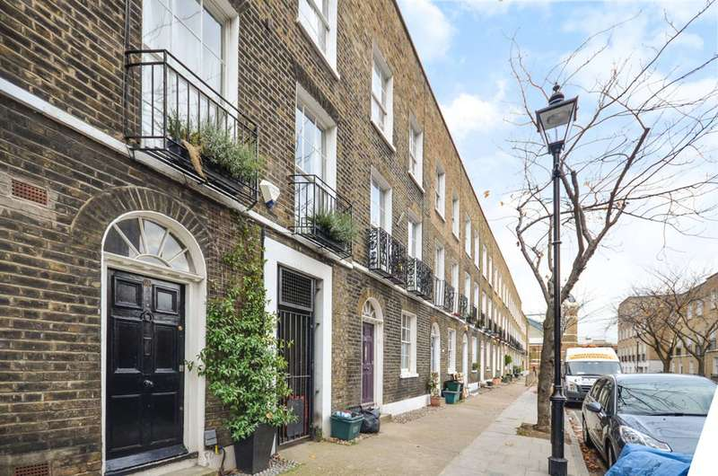 3 Bedrooms House for sale in Batchelor Street, Islington, N1