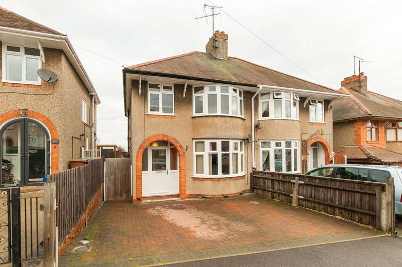 3 Bedrooms Semi Detached House for sale in Briar Hill Road, Northampton, Northamptonshire, NN4