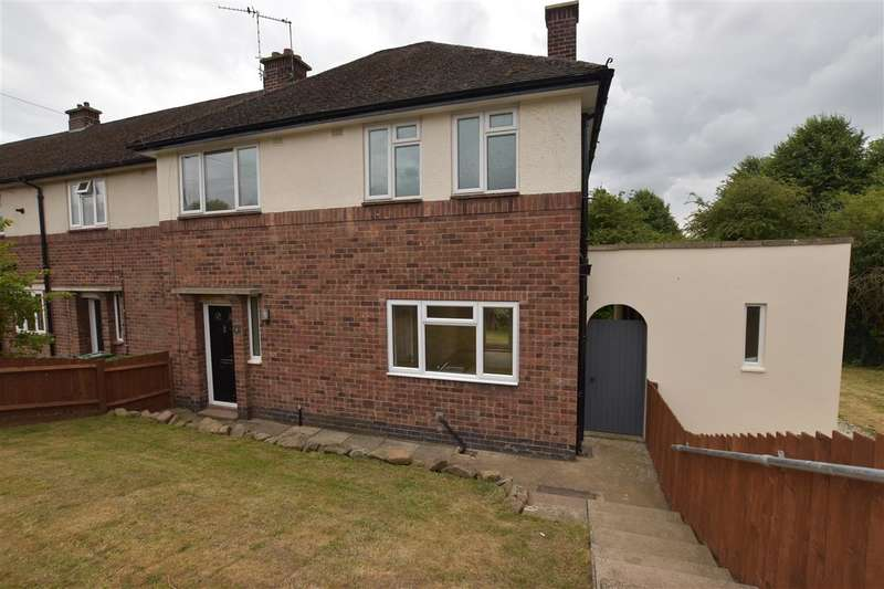 3 Bedrooms Semi Detached House for sale in Greedon Rise, Sileby
