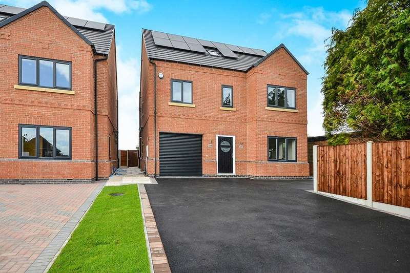 5 Bedrooms Detached House for sale in Cromford Road, Aldercar, Nottingham, NG16