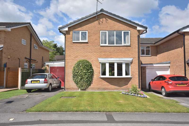 4 Bedrooms Detached House for sale in 66 GLASTONBURY DRIVE, POYNTON
