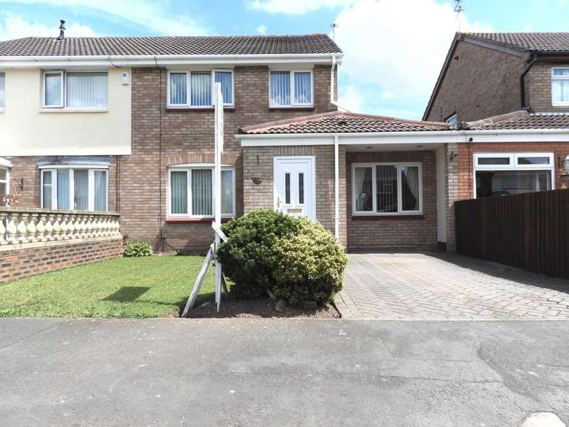 3 Bedrooms Semi Detached House for sale in Jedburgh Drive, Melling Mount