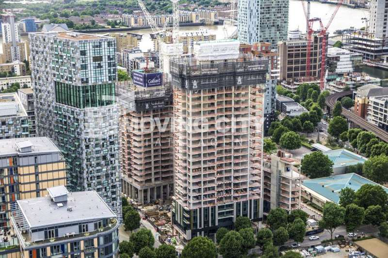 2 Bedrooms Apartment Flat for sale in Harbour Central, Maine Tower, E14