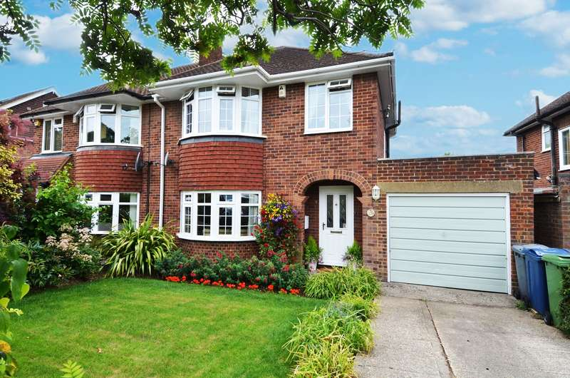 3 Bedrooms Semi Detached House for sale in Carver Hill Road, High Wycombe, HP11