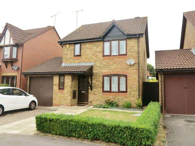 3 Bedrooms Detached House for sale in Regent Close, Lower Earley, Reading