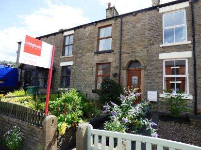 2 Bedrooms Terraced House for sale in Buxton Road, Newtown, Disley, Stockport