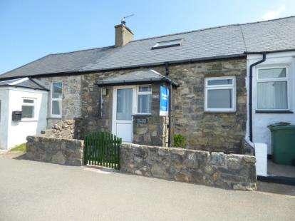 2 Bedrooms Terraced House for sale in Mount Pleasant, Llithfaen, Pwllheli, Gwynedd, LL53